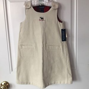 Ralph Lauren corduroy girls dress